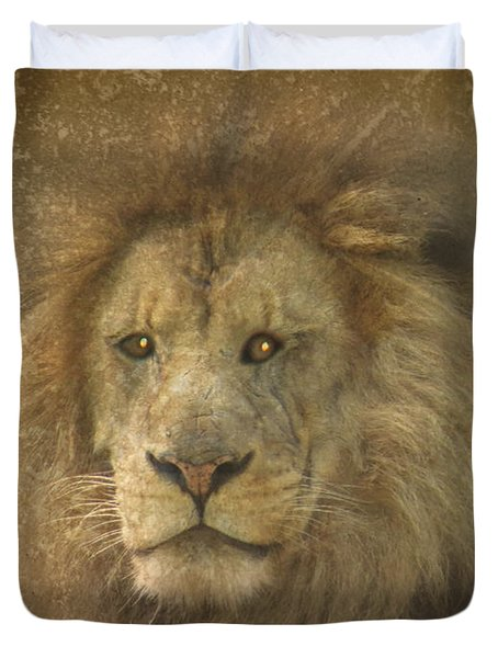 King Of The Jungle Duvet Cover