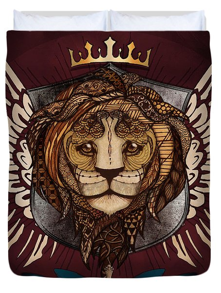 The King's Heraldry Duvet Cover