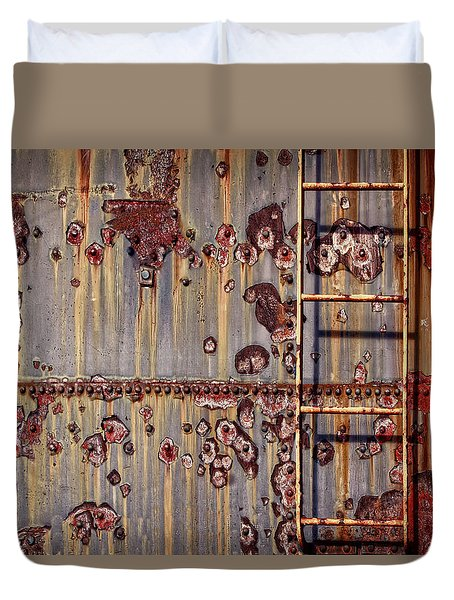 The Ladder Duvet Cover by Marcia Colelli