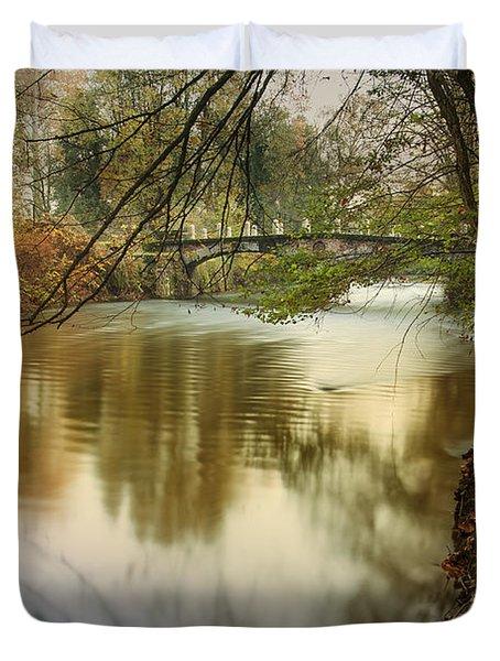 The Lambro River Duvet Cover