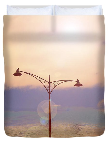 The Lampost Duvet Cover