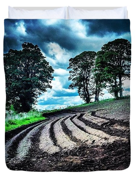 The Land Duvet Cover