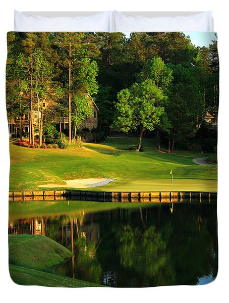 Golf At The Landing #3 In Reynolds Plantation On Lake Oconee Ga Duvet Cover