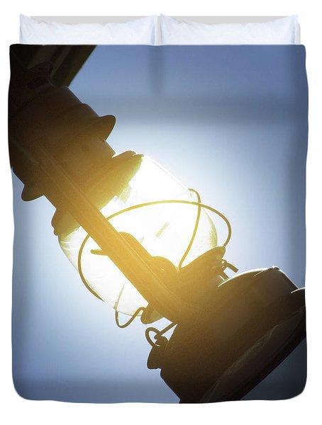 The Lantern Duvet Cover by Mike McGlothlen