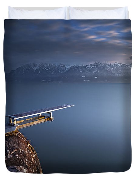 The Last Jump Duvet Cover