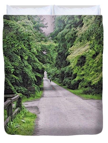 The Last Path Duvet Cover