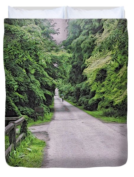The Last Path Duvet Cover