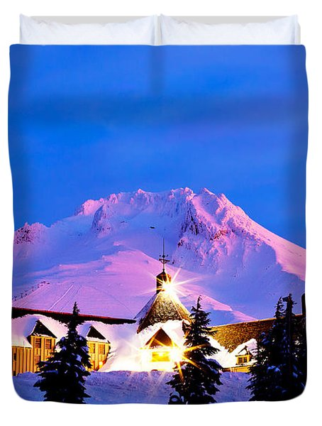 The Last Sunrise Duvet Cover