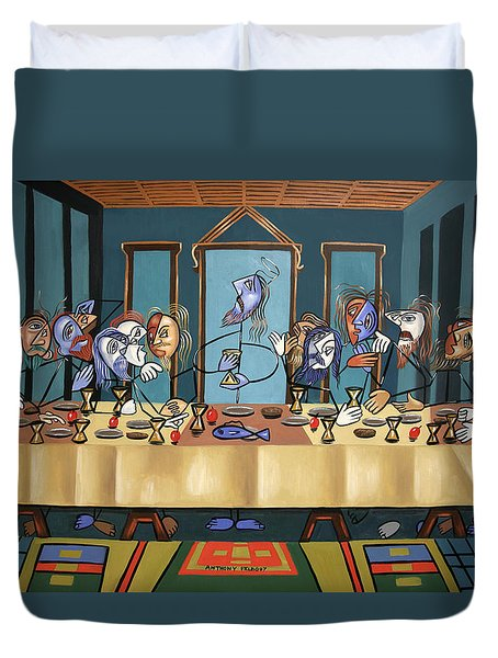 The Last Supper Duvet Cover