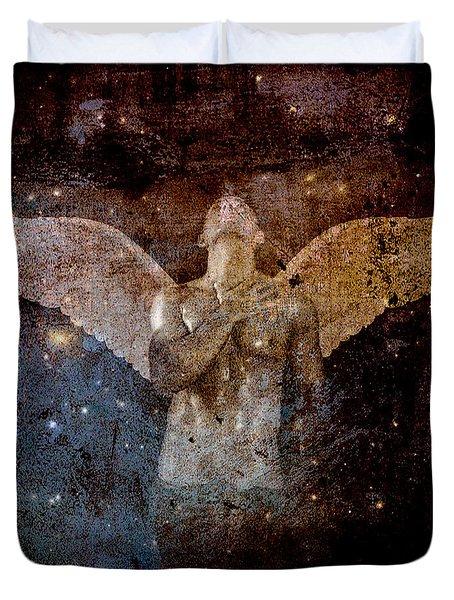 The Last Angel  Duvet Cover