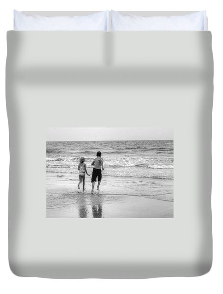 The Last Wave Duvet Cover