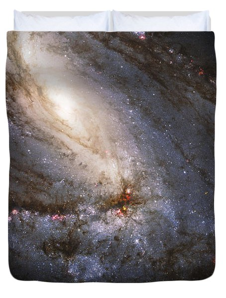 The Leo Triplet Duvet Cover by Adam Romanowicz