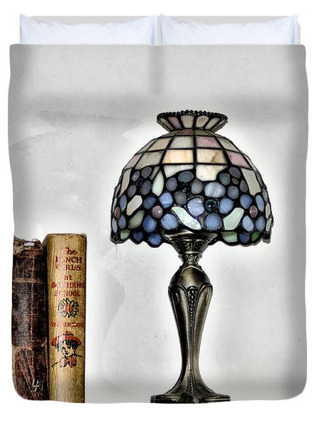 The Library Duvet Cover by Bill Cannon