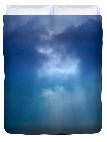 Light Above The Storm Duvet Cover