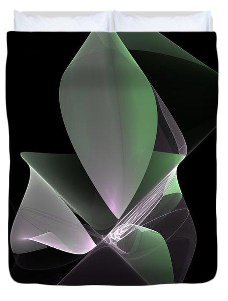 Duvet Cover featuring the digital art The Light Inside by Gabiw Art