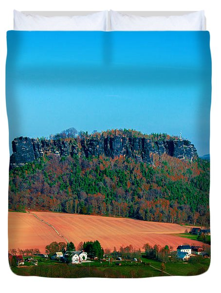 The Lilienstein Duvet Cover