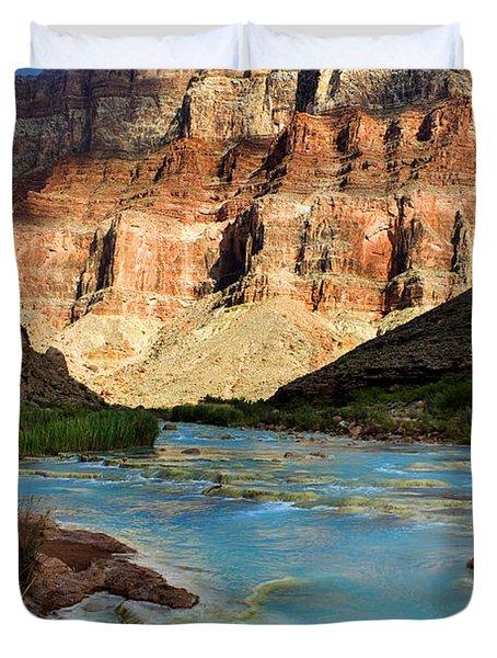 The Little Colorado  Duvet Cover