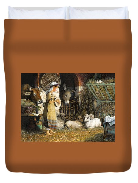 The Little Drummer Boy Duvet Cover