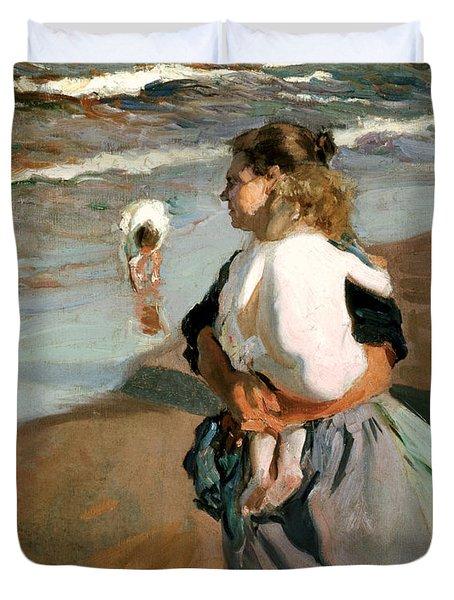 The Little Granddaughter Duvet Cover