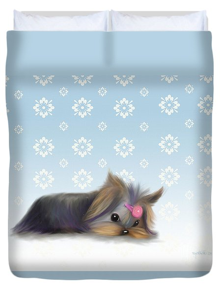 The Little Thinker  Duvet Cover