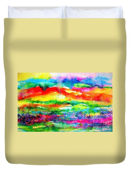 The Living Desert Duvet Cover