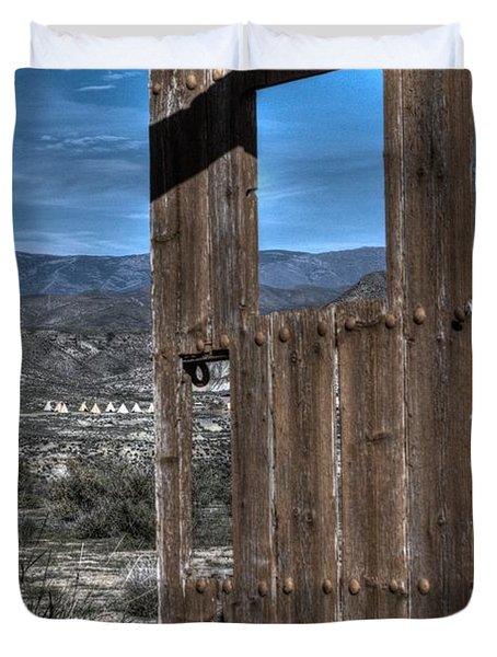 The Lockless Door Duvet Cover by Heiko Koehrer-Wagner