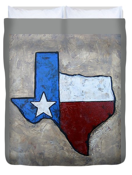 The Lone Star State Duvet Cover by Suzanne Theis