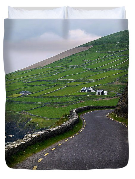 The Long And Winding Road Duvet Cover