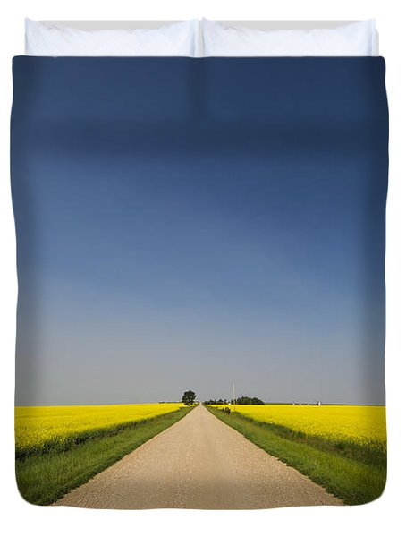 The Long Road Duvet Cover