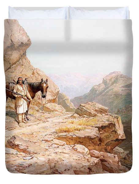 The Look Out Duvet Cover by Henry Raschen