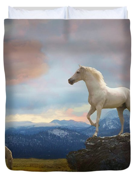 The Look Out Duvet Cover
