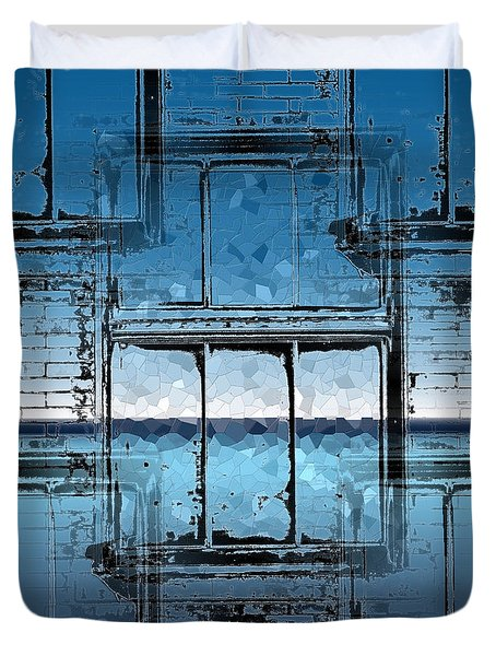 The Looking Glass Reprised Duvet Cover by Tim Allen