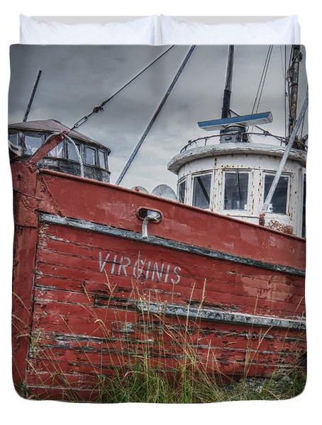 The Lost Fleet Virginis Duvet Cover