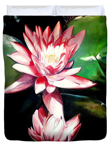 The Lotus Duvet Cover