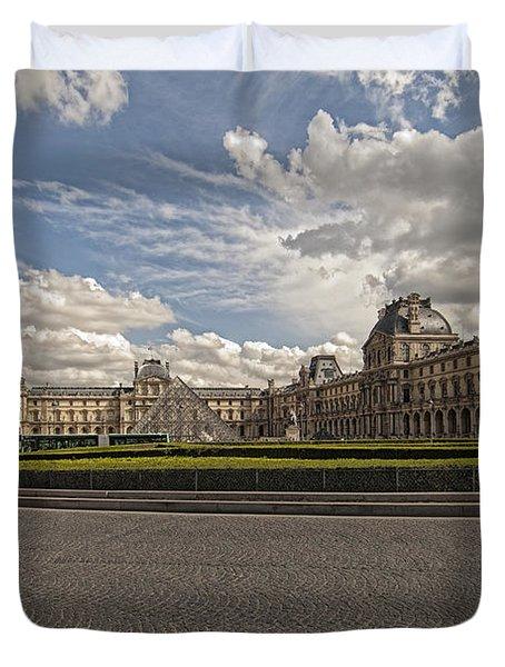 The Louvre Duvet Cover