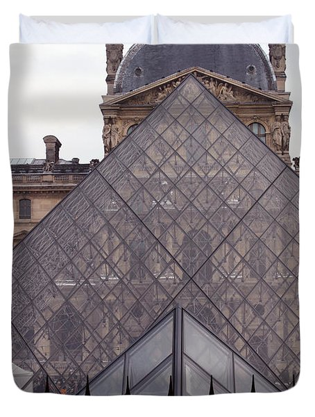 The Louvre Duvet Cover