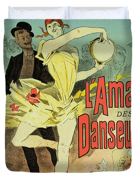 The Lover Of Dancers Poster Duvet Cover