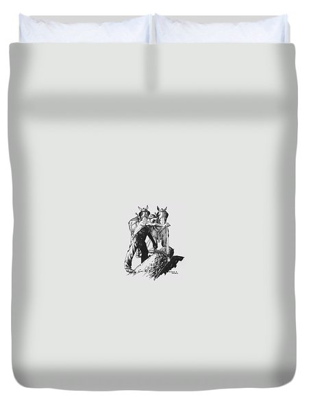 The Lumberjack Duvet Cover