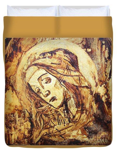 The Madonna Of Medjugorje,  Duvet Cover