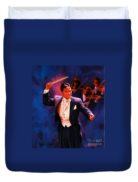 The Maestro Duvet Cover