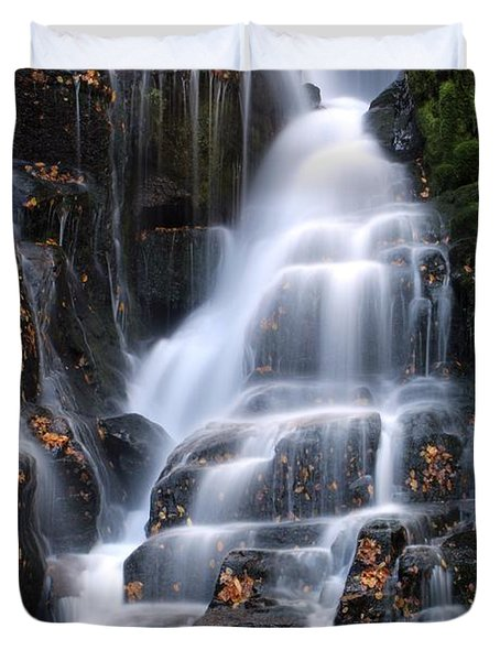 The Magic Of Waterfalls Duvet Cover
