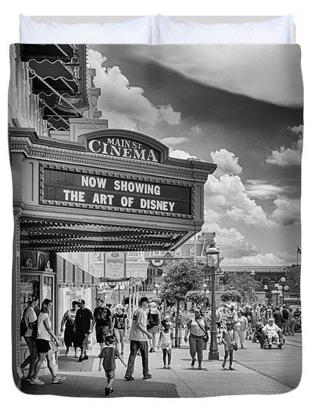 The Main Street Cinema Duvet Cover