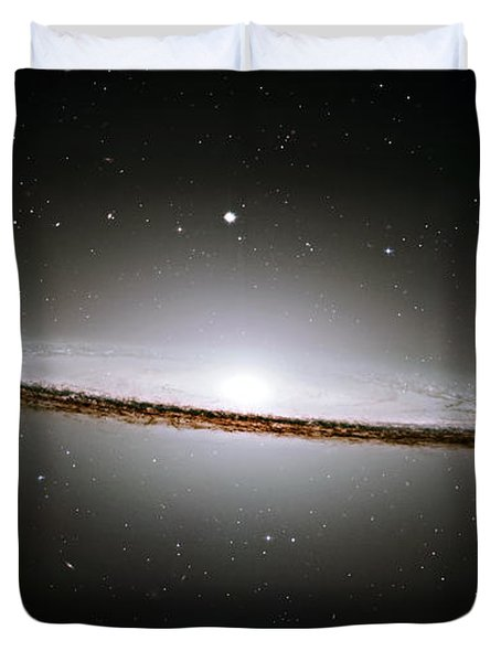 The Majestic Sombrero Galaxy Duvet Cover