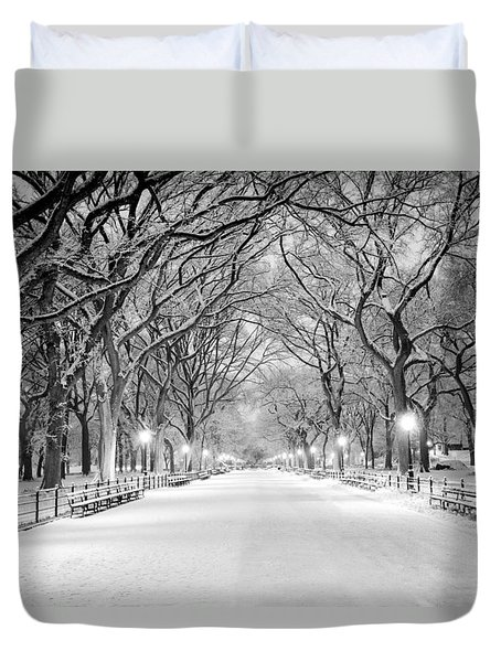 The Mall Duvet Cover by Mihai Andritoiu