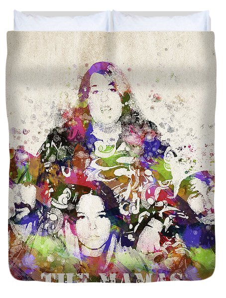The Mamas And The Papas Duvet Cover by Aged Pixel