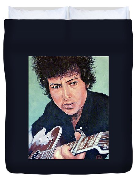 The Man In Me Duvet Cover by Tom Roderick