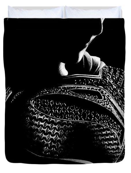 The Man Of Steel Duvet Cover by Kayleigh Semeniuk