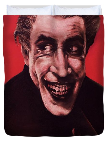 The Man Who Laughs Duvet Cover