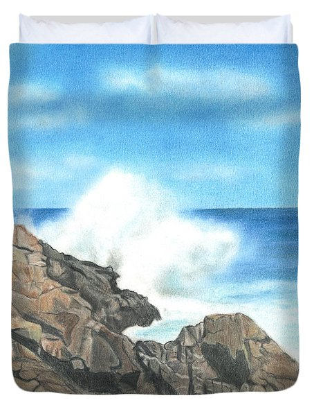 The Marginal Way Duvet Cover