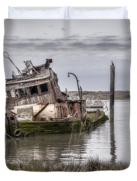 The Mary D. Hume Duvet Cover by Heather Applegate